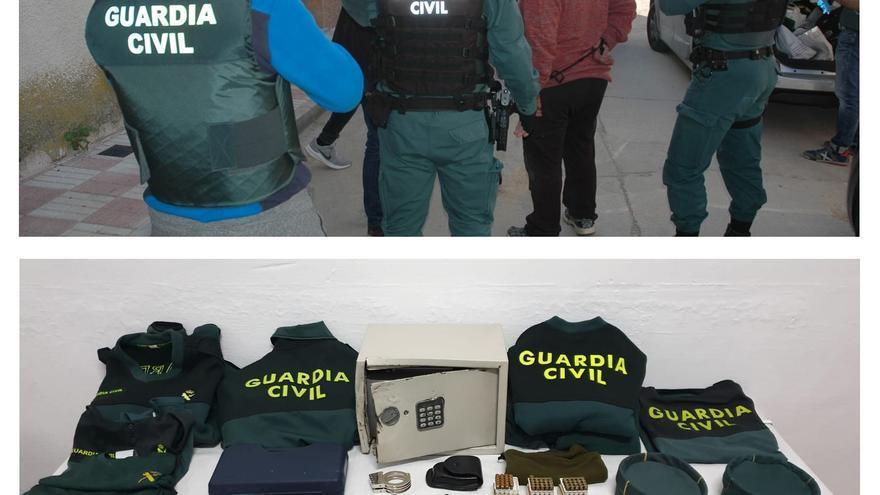 Dos detenidos por asaltar el puesto de la Guardia Civil de Villafranca (Toledo)