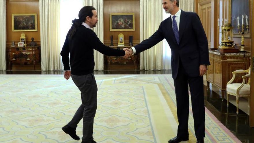 """Iglesias es prudente aunque cree que PSOE y ERC van """"en la buena dirección"""""""