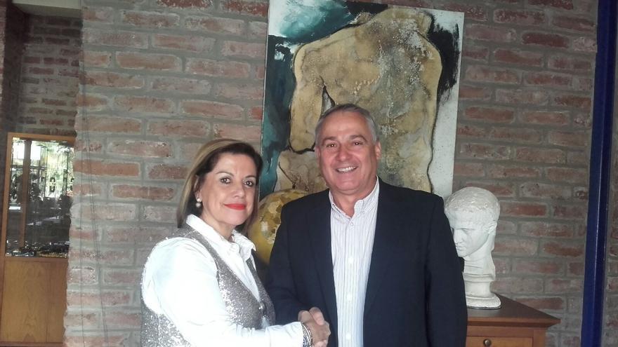 María José Cutillas y Carlos Camacho.