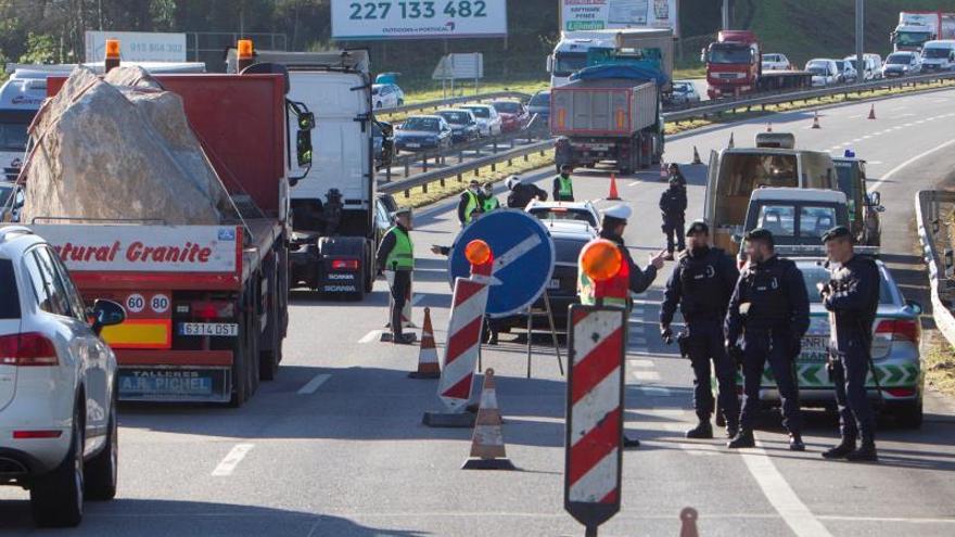 Tercera jornada del estado de alarma en Galicia