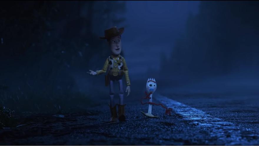 Fotograma de la película Toy Story 4.