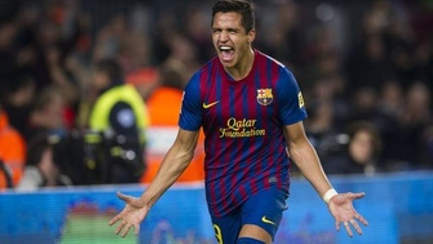 El Jugador Del FC Barcelona Alexis Sánchez