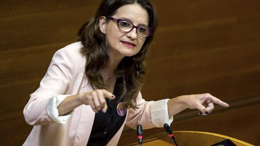 Oltra: Para que prospere la moción del PSOE ha de querer un Gobierno como valenciano