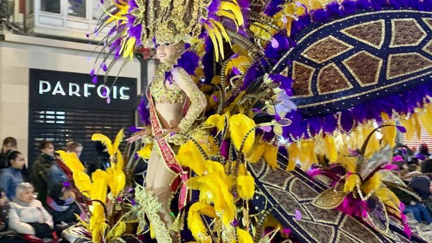 El desfile de carnaval