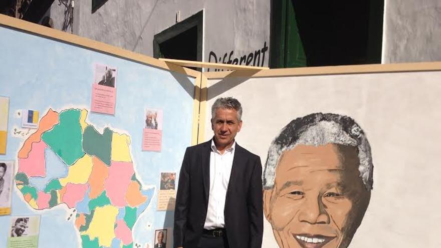 Néstor Paz, director insular en La Palma de la Consejería de Educación del Gobierno de Canarias.