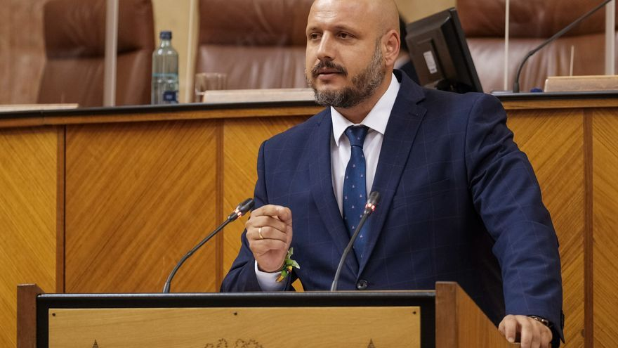 Archivo - El portavoz adjunto de Vox en el Parlamento andaluz, Rodrigo Alonso.
