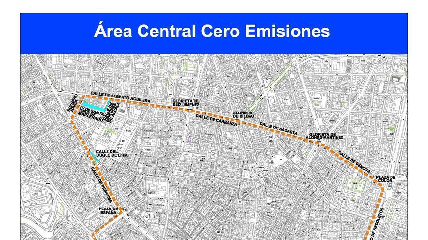 Área central cero emisiores