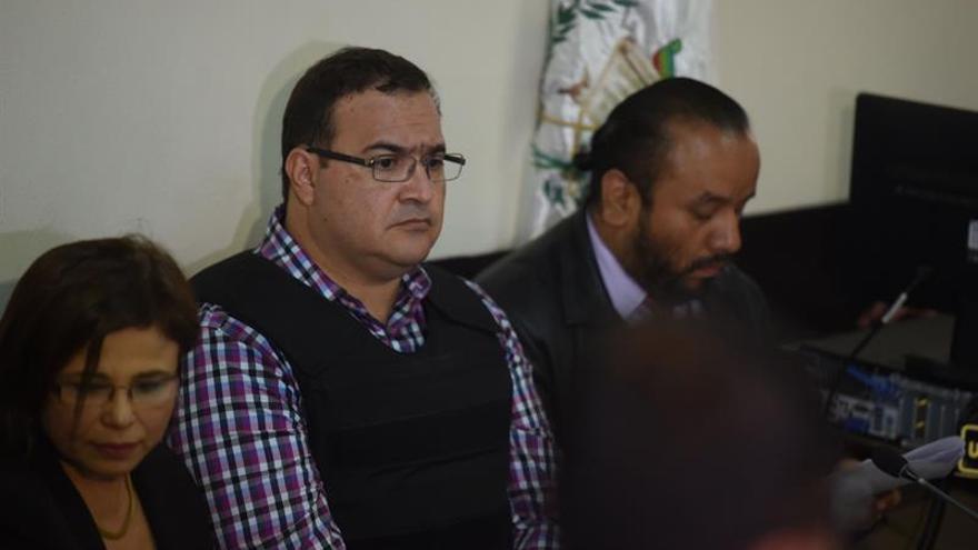 Llega a los tribunales de Guatemala exgobernador mexicano por extradición