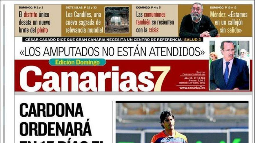 De las portadas del día (29/04/2012) #1