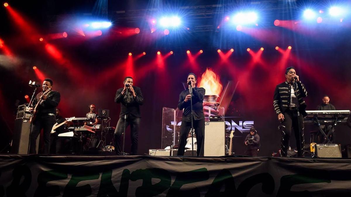 The Jacksons, que, con Michael Jackson al frente, formaron los Jackson 5.