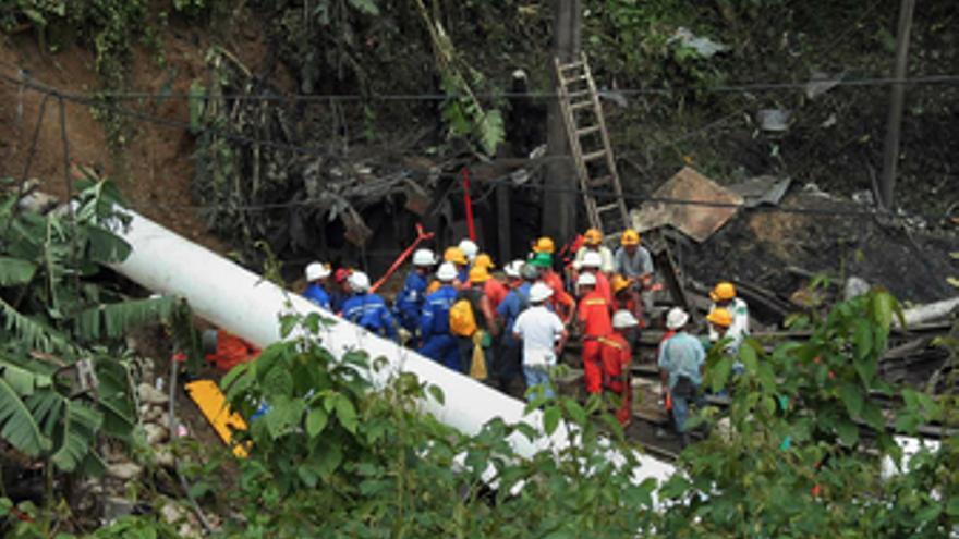 Explosión de una mina en Colombia