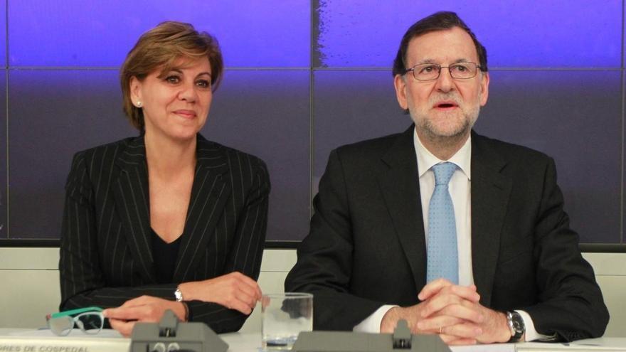 """Cospedal afirma que el rival del PP es """"la radicalidad"""", representada por Podemos"""