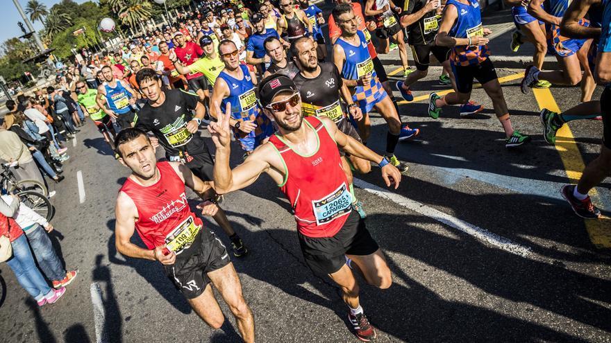 Una imagen del Maratón de Valencia.