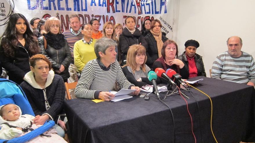 """La Plataforma por la Renta Básica exige al Gobierno de Navarra que """"cumpla el acuerdo programático"""" en la nueva ley"""