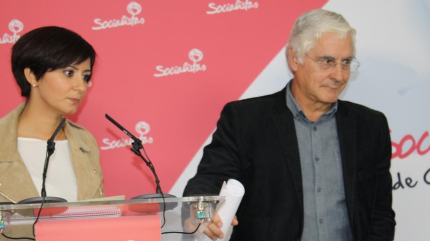 Isabel Rodríguez y José María Barreda, PSOE Ciudad Real