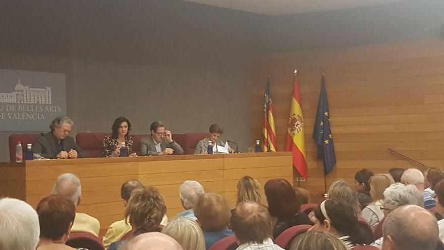 Joan Romero, Ana Noguera, Enrique Herreras y Adela Cortina