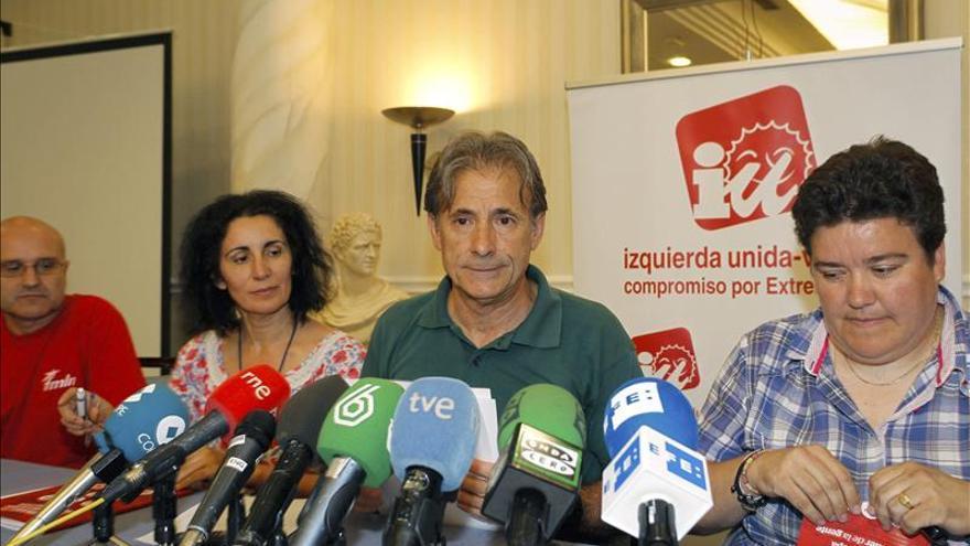 """IU-Extremadura """"diría no"""" en una moción de confianza a Monago, según su portavoz"""
