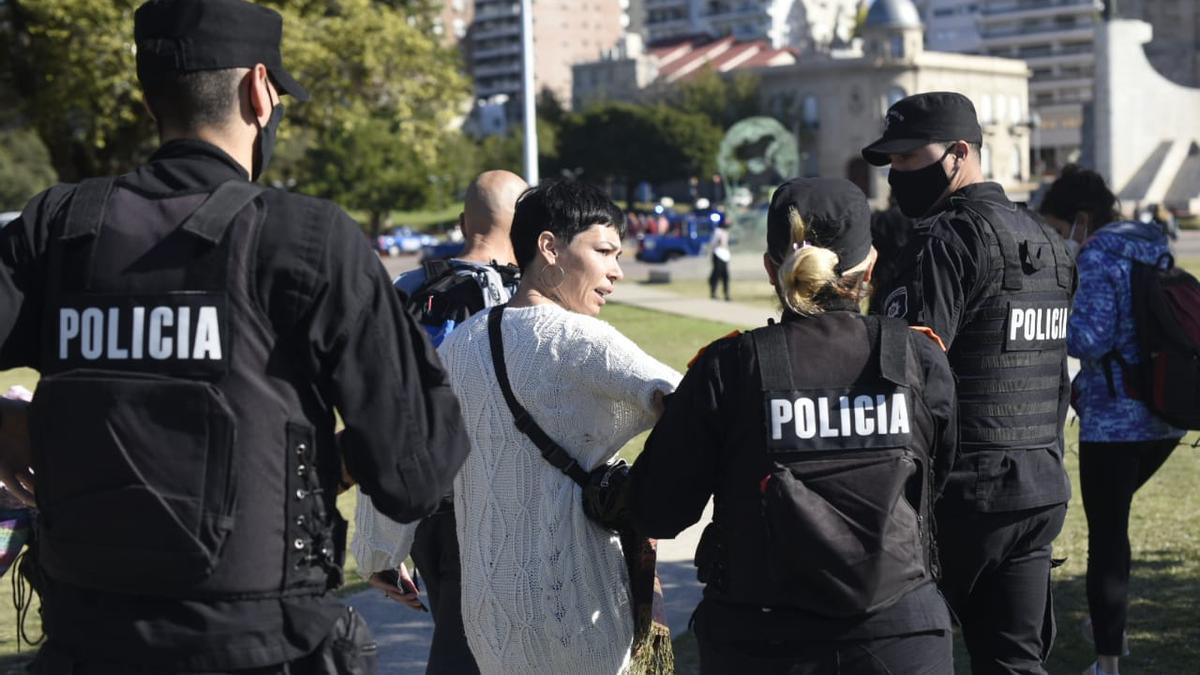 Más de 30 personas fueron detenidas