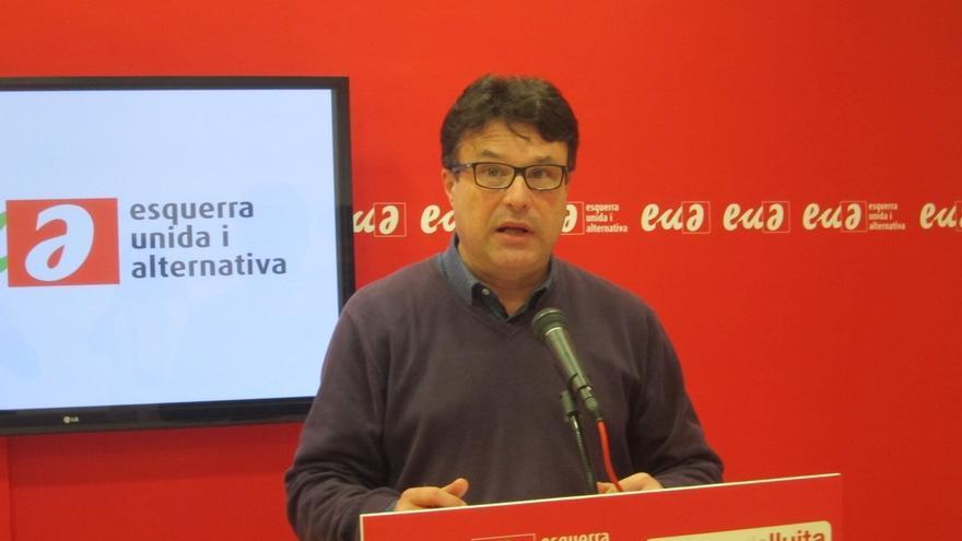 """Nuet (EUiA) ve en la elección de Romeva los """"nervios de la lista del presidente"""""""