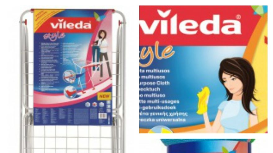 Collage productos de Vileda.