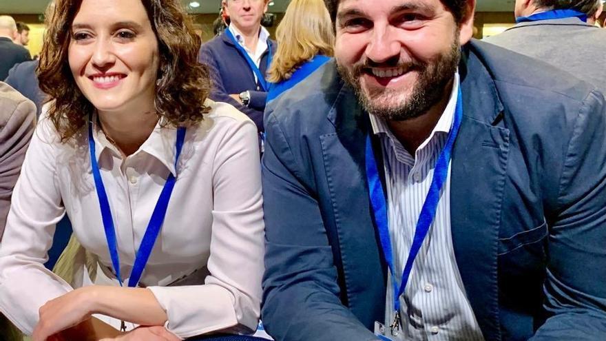Isabel Díaz Ayuso y Fernando López Miras