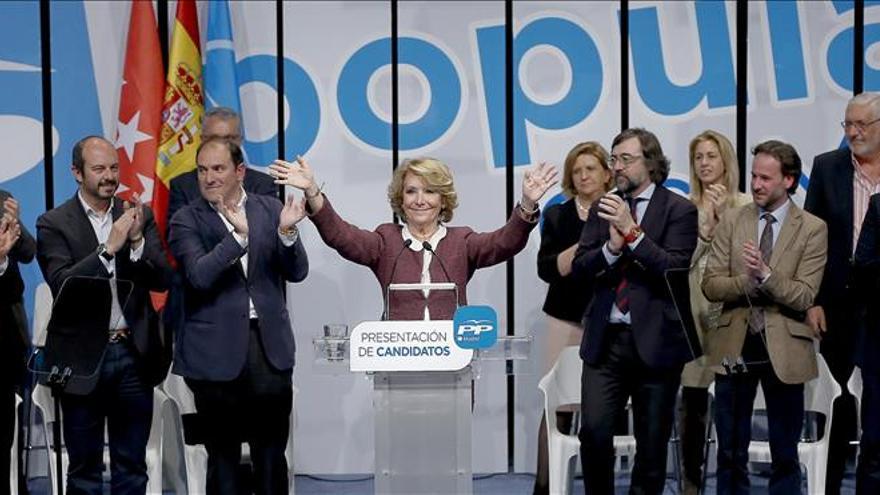 """Aguirre dice que """"el PP está abierto a todos, menos a los que van contra el sistema"""""""