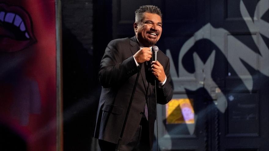 Fotografía sin fecha cedida por Netflix que muestra al humorista George López.