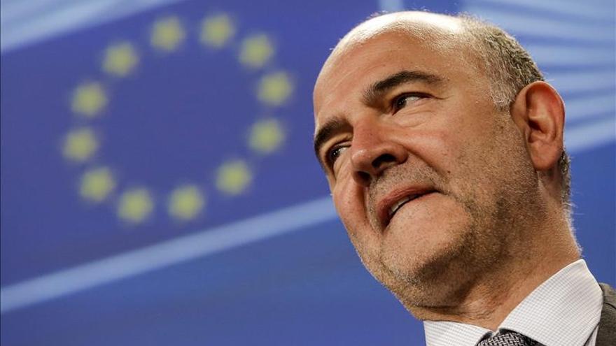 Moscovici ve la crisis de refugiados como una oportunidad para el crecimiento