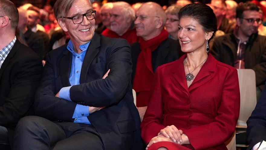 Izquierda alemana recuerda a Rosa Luxemburgo, inmersa en debate sobre futuro