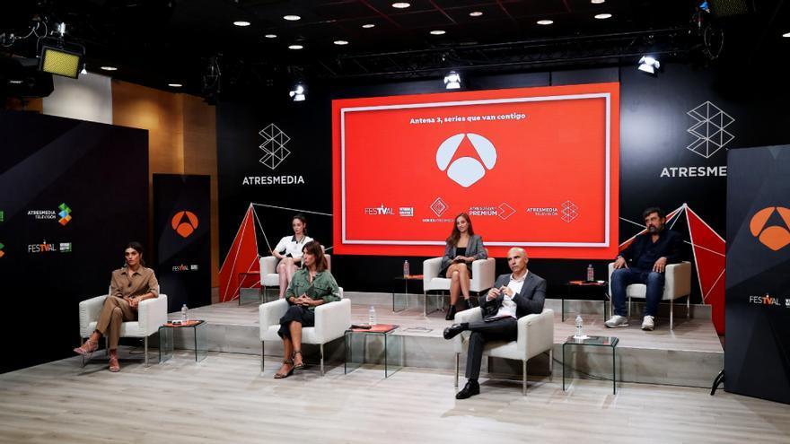 Presentación series Antena 3 durante el FesTVal
