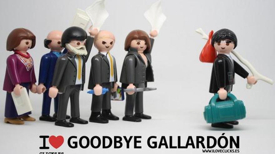 I love Goodbye Gallardón