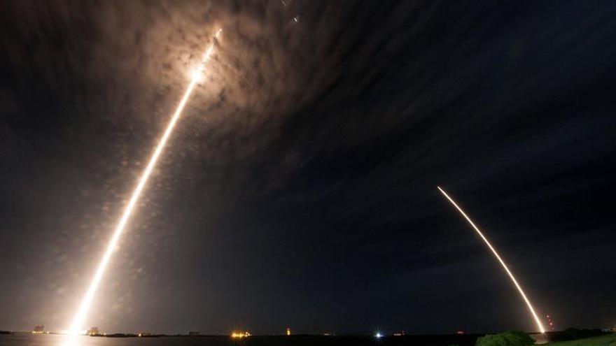 La cápsula Dragon llega con éxito a la Estación Espacial Internacional