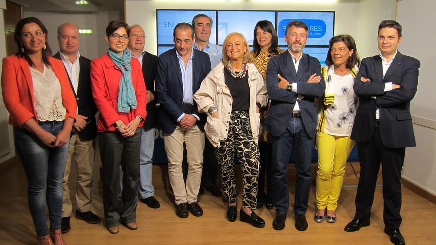 La candidata del PP en Asturias pide el apoyo de C's y Foro para optar a la Presidencia
