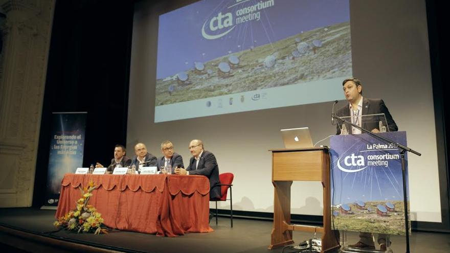 Inauguración este miércoles de la reunión científica de la Red CTA.
