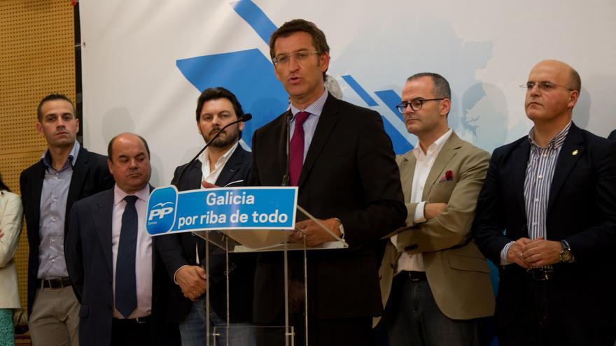 """Feijóo elogia el equipo de candidatos del PPdeG y augura que Galicia """"seguirá firmando contratos de crecimiento"""""""