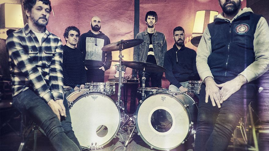 La banda de música Lisabö.
