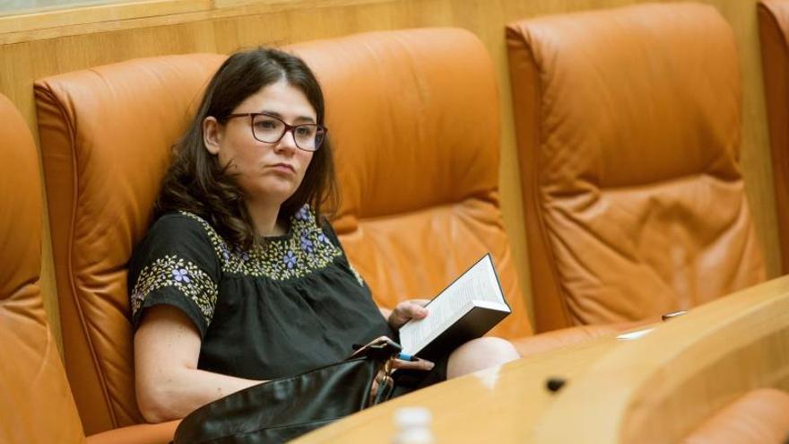 Raquel Romero, diputada de Podemos en La Rioja