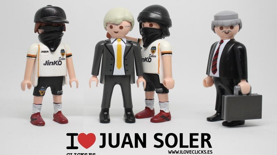 I love Juan Soler