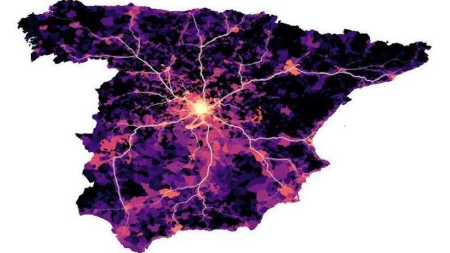 La movilidad de cada provincia con Madrid fue determinante en la propagación y mortalidad por coronavirus