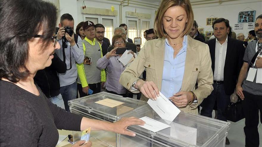 El PP pierde la mayoría absoluta con el 10,43 % escrutado en Castilla La Mancha