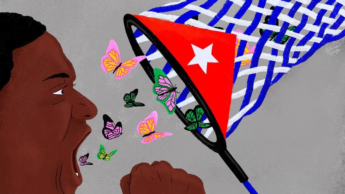 Las y los artistas de Cuba son la base de las protestas en el país
