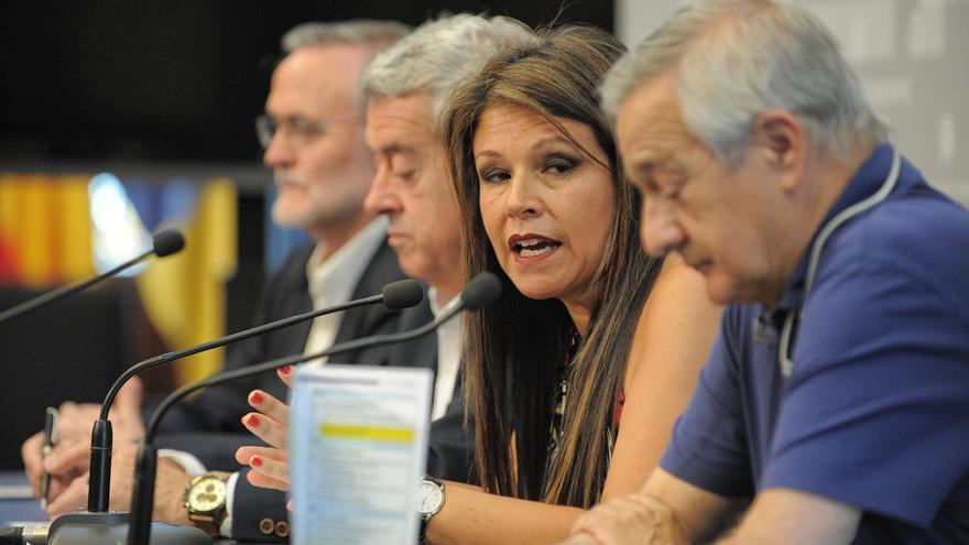 Carmen Delia Herrera, consejera insular de Acción Exterior en el Cabildo tinerfeño, este viernes