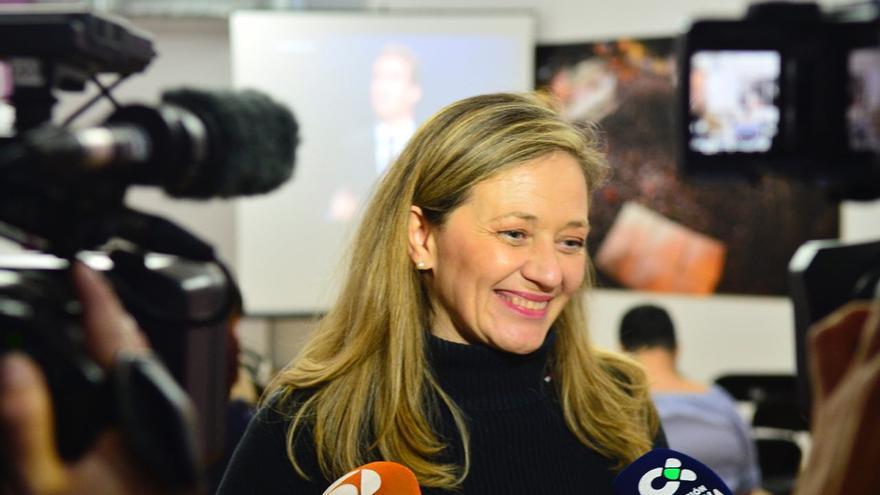 Victoria Rosell, candidata de Unidas Podemos al Congreso por la provincia de Las Palmas.