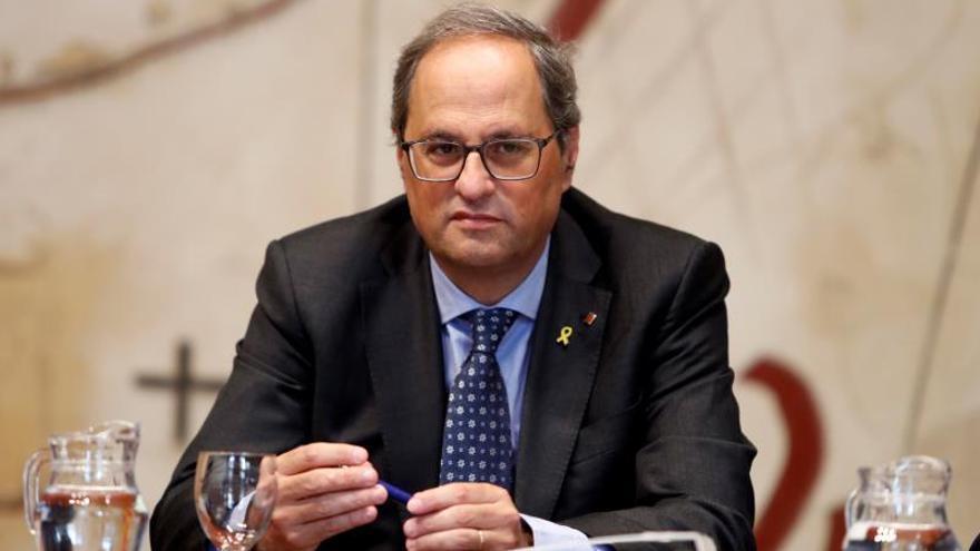 El TSJC aplaza al 18 de noviembre el juicio a Torra por no retirar los lazos