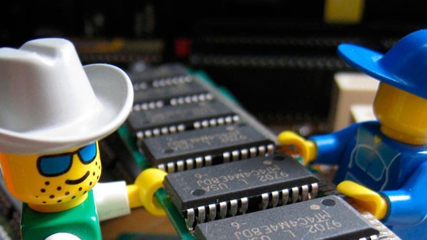 Cualquier puede ser informático, pero esto ya es una exageración (Foto: Daniel Dionne en Flickr)