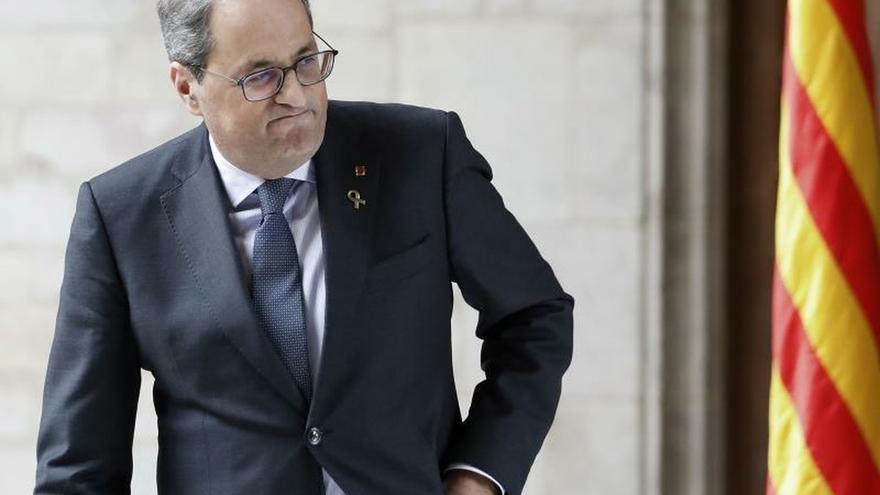 Torra y Sánchez se reunirán en el Palau de la Generalitat el día 6 a las 12