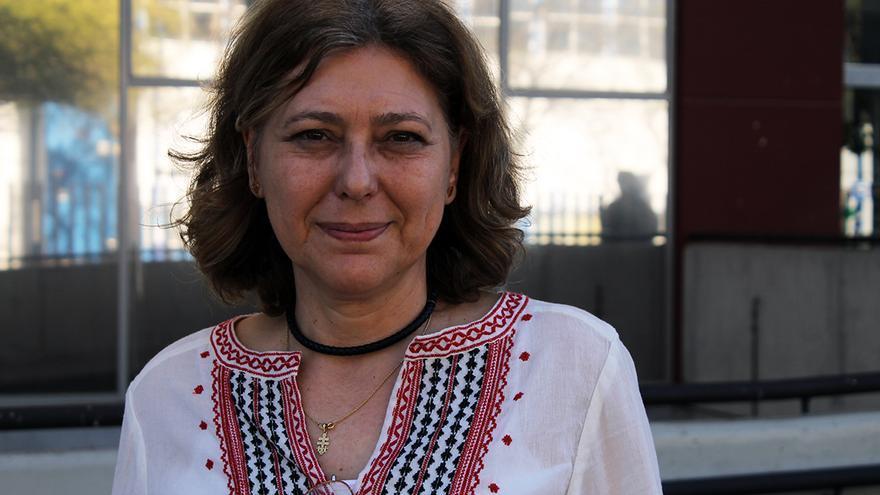 La profesora de la Universidad Complutense, Asunción Bernárdez. / JUAN MIGUEL BAQUERO