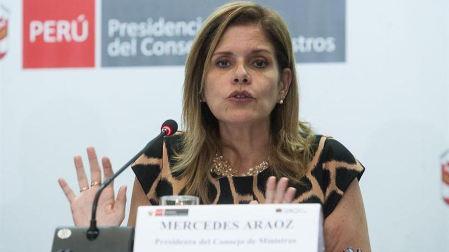 La vicepresidenta peruana justifica su voto contra la acusación a Alan García y a Keiko Fujimori