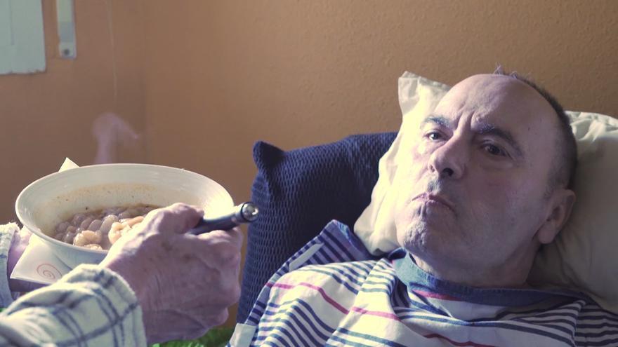 Un fotograma del vídeo
