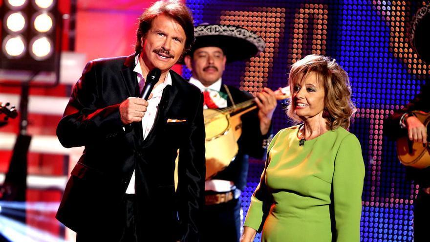María Teresa Campos y Bigote Arrocet sacarán un disco juntos